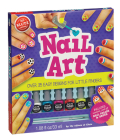 Nail Art: Over 35 Easy Designs for Little Fingers [With Non-Toxic Peel-Off Nail Polish and Brush] (Klutz) Cover Image