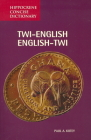 Twi-English/English-Twi Concise Dictionary (Hippocrene Concise Dictionary) Cover Image
