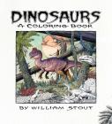 Dinosaurs: A Coloring Book by William Stout Cover Image