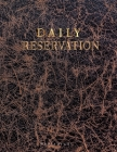 Daily Restaurant Reservation: for Restaurant Customer record tracking Daily Table reservation log book. Simple stylish design Time Management Books Cover Image