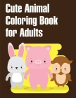Cute Animal Coloring Book for Adults: Christmas Coloring Pages for Boys, Girls, Toddlers Fun Early Learning Cover Image