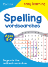 Spelling Word Searches: Ages 5-7 (Collins Easy Learning KS1) Cover Image
