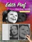 Edith Piaf Dots Lines Spirals Coloring Book: New Kind Of Stress Relief Coloring Book For Kids And Adults Cover Image