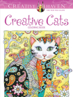 Creative Haven Creative Cats Coloring Book Cover Image