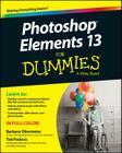 Photoshop Elements 13 for Dummies Cover Image