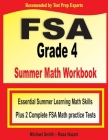 FSA Grade 4 Summer Math Workbook: Essential Summer Learning Math Skills plus Two Complete FSA Math Practice Tests Cover Image