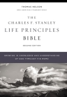 Nasb, Charles F. Stanley Life Principles Bible, 2nd Edition, Hardcover, Comfort Print: Holy Bible, New American Standard Bible Cover Image