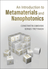 An Introduction to Metamaterials and Nanophotonics Cover Image