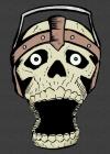 Screaming Skull Sketchbook Cover Image