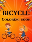 Bicycle Coloring Book: best bicycle coloring book for kids Cover Image
