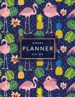 Academic Planner 2018-19: Flamingo Print Weekly + Monthly Views to Do Lists, Goal-Setting, Class Schedules + More (Aug 2018 - July 2019) Cover Image
