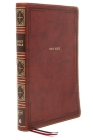 Kjv, Thinline Bible, Giant Print, Leathersoft, Brown, Red Letter Edition, Comfort Print: Holy Bible, King James Version Cover Image