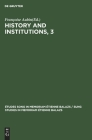 History and Institutions, 3 Cover Image