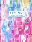 2020-2021 Monthly Planner: 2 Year Monthly Calendar 2020-2021 - 24 Months Agenda Planner with Federal Holidays - Jan 2020 - Dec 2021 Monthly Plann Cover Image
