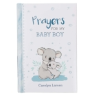 Gift Book Prayers for My Baby Boy Cover Image