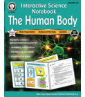 Interactive Science Notebook: The Human Body Resource Book Cover Image