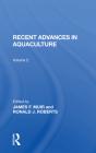 Recent Advances in Aquaculture: Volume 2 Cover Image