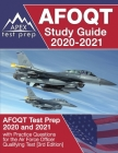 AFOQT Study Guide 2020-2021: AFOQT Test Prep 2020 and 2021 with Practice Questions for the Air Force Officer Qualifying Test [3rd Edition] Cover Image