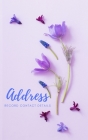 Adressbook: Tabbed in Alphabetical Order, Perfect for Keeping Track of Addresses, Email, Mobile, Work & Home Phone Numbers, Social Cover Image