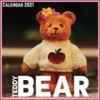 Teddy Bear Calendar 2021: Official Teddy Bear Calendar 2021, 12 Months Cover Image