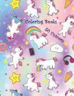 50 Unicorn Coloring Books: Activity Books Prepares Children for School Cover Image