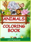 Animals Coloring Book ( Vol 2 ): Cute Coloring Book with Animal Designs for girls / kids kids ages 7+ Activity Book for Kids Cover Image