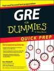 GRE for Dummies Quick Prep Cover Image