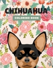 Chihuahua Coloring Book: Simple and Easy Chihuahuas Coloring Book for Adults, gifts for dog lovers Cover Image