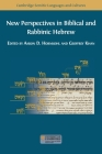 New Perspectives in Biblical and Rabbinic Hebrew Cover Image