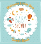 Baby Shower Guest Book: Cute Baby Shower Guest Book Sign In, Special Message to Parents and Baby, Predictions, Wishes Pregnancy Gifts Cover Image