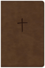 NKJV Compact Bible, Value Edition Brown Leathertouch Cover Image