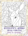 Accogliente animale della foresta - Libro da colorare - Cammello, Capybara, Ratto, Leopardo, e altro ancora Cover Image