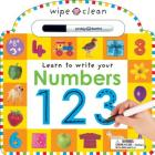 Wipe Clean: Numbers (Wipe Clean Learning Books) Cover Image