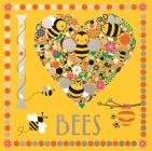 I Heart Bees (I Heart Pocket Colouring #21) Cover Image