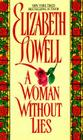 A Woman Without Lies (Avon Romance) Cover Image