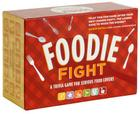 Foodie Fight: A Trivia Game With Gameboard and Cards (Food Lover Gifts, Food Trivia Game, Trivia Game for Teens and Adults) Cover Image
