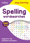 Spelling Word Searches: Ages 7-9 (Collins Easy Learning KS2) Cover Image