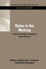 Rules in the Making: A Statistical Analysis of Regulatory Agency Behavior (Rff Policy and Governance Set) Cover Image