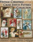 Vintage Christmas Cross Stitch Pattern Collection: Black & White Charts Cover Image