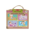 NP Wooden Puzzle: Little Princess Cover Image