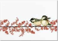 DLX Bx: Winterberry & Chickadees Cover Image