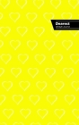 Dearest Lifestyle Journal, Write-in Notebook, Dotted Lines, Wide Ruled, Medium Size 6 x 9 Inch (A5) Hardcover (Yellow) Cover Image