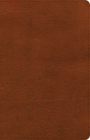 NASB Large Print Personal Size Reference Bible, Burnt Sienna LeatherTouch, Indexed Cover Image