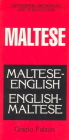 Maltese-English/English-Maltese Dictionary and Phrasebook (Hippocrene Dictionaries & Phrasebooks) Cover Image