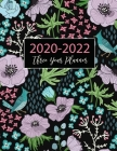 2020-2022 Three Year Planner: Birds and Floral Cover - 2020-2022 Monthly Planner - 3 Year Daily Appointment Book - Three Years Planner with Holiday, Cover Image