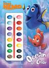 Finding Nemo: Ocean of Color [With Paint Brush and Paint] Cover Image
