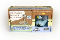 The Pigeon Needs a Bath Book with Pigeon Bath Toy! Cover Image