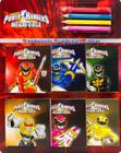 Power Rangers Coloring Book and Pencil Set Cover Image
