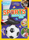 Sports Sticker Activity Book Cover Image