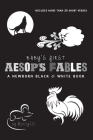 Baby's First Aesop's Fables: A Newborn Black & White Book: 22 Short Verses, The Ants and the Grasshopper, The Fox and the Crane, The Boy Who Cried Cover Image